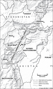 West Pakistan districts