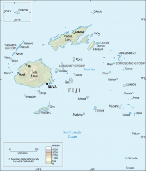 Fiji in colour