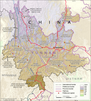 China - Yunnan province