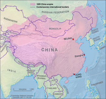 Chinese empire - 1820