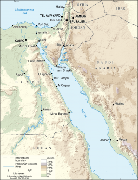 Red Sea area
