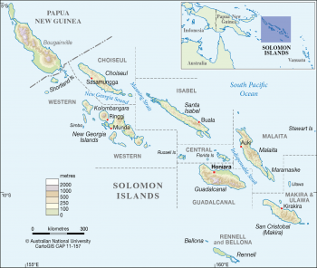 Solomon Islands - Provinces
