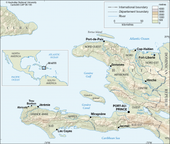 Haiti Départements