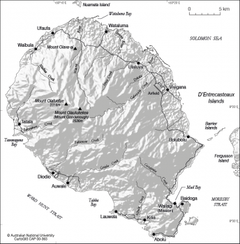 Goodenough Island