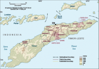 Timor-Leste districts