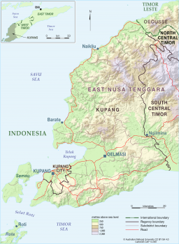 Kupang Regency of East Nusa Tenggara