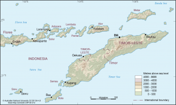 Timor and northern islands