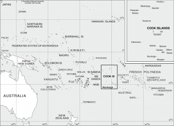Cook Islands - location