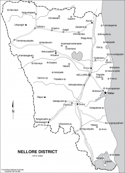 Nellore District in India