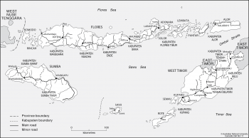 Nusa Tenggara Timur boundaries