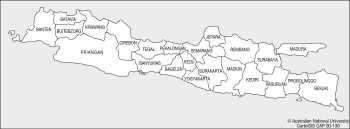 Java - districts ca 1960