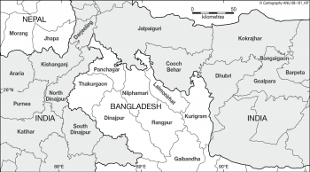 NE India and Bangladesh