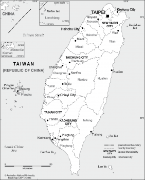 Taiwan admin base - 2012
