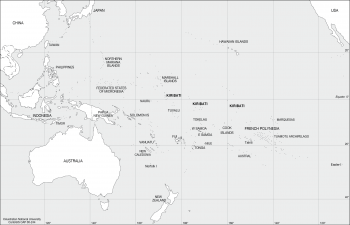 Kiribati in the Pacific