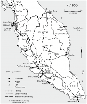 West Malaysia 1900-1955