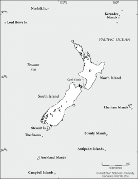 Islands of New Zealand
