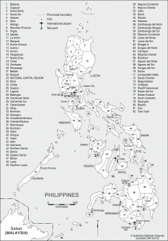 Philippines provinces-2010
