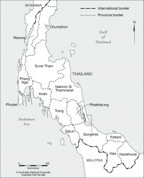 Southern Thailand Provinces