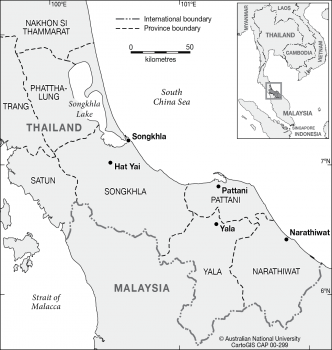 Southern Thailand Border area