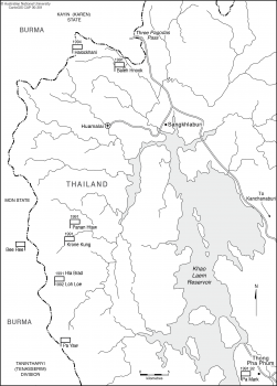 Thai-Burma border area