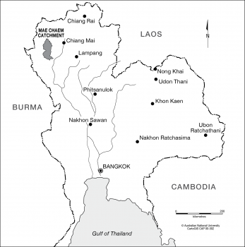 Mae Chaem Catchment area