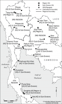 Thailand - BPP regions