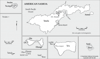 Islands of American Samoa