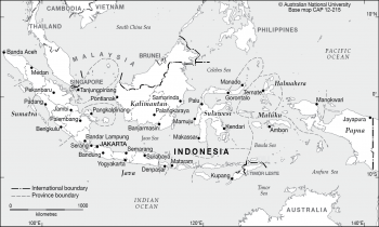 Indonesian provinces - 2012