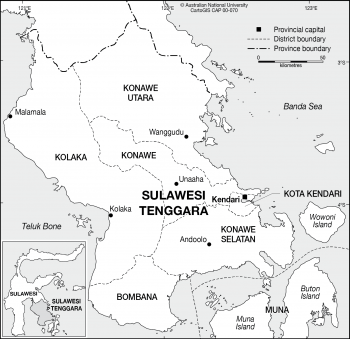 Sulawesi Tenggara (pre 2012)