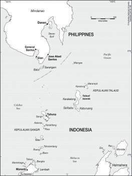 Northern islands of Sulawesi
