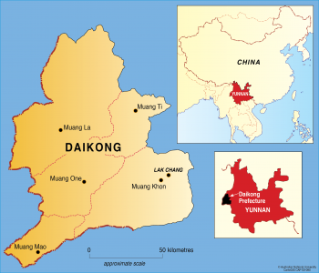 China - Daikong prefecture