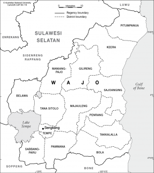 Wajo, Sulawesi