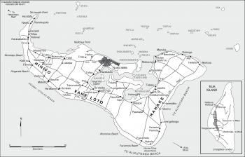 Tongatapu settlements
