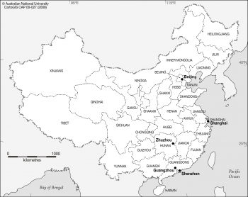 China provinces