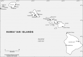 Hawaii - main islands
