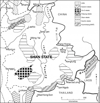 Shan state rebels 1967
