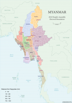 Myanmar constituencies