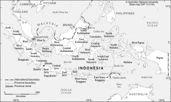Provinces of Indonesia base - 2013