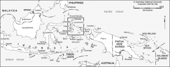 North Maluku location