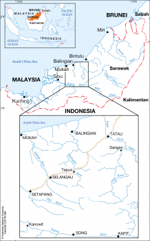 Sarawak rivers