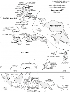 Maluku Administration areas