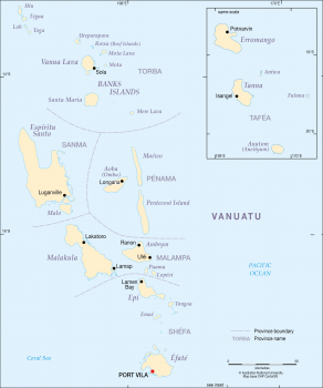 Provinces of Vanuatu