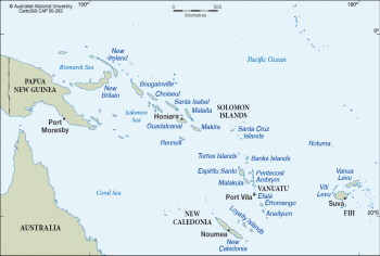 Oceania subregion - Melanesia