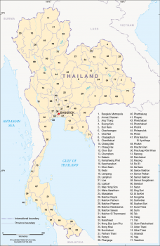 Provinces of Thailand