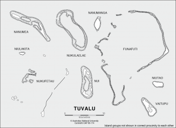 Coral Atolls of Tuvalu