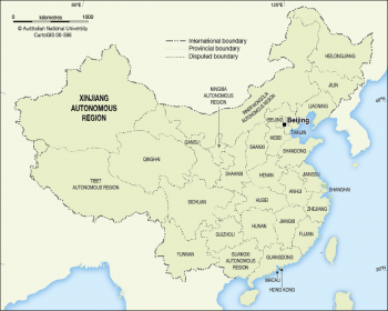 China Provinces - 2013