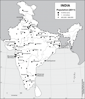 India population (2011)