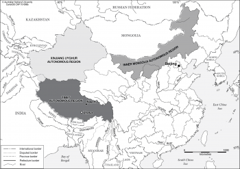 China - autonomous regions