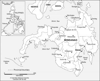 Mindanao - Provincial capitals
