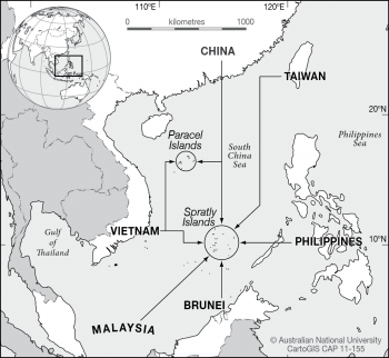 Spratly and Paracel Islands